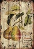 Rust Design Decorative Fruit Vintage Wall Plaque