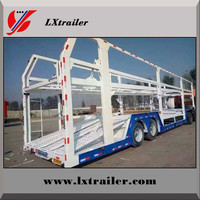 2 / 3 Axles 6 Car Carrier / Car Transport Semi Trailer For Sale