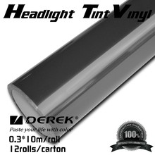 Light black car headlight tint film for vehicle wrapping