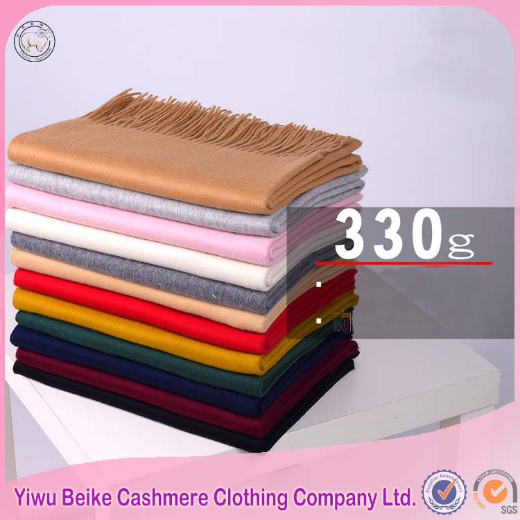2017 newest design brand real cashmere pashmina shawl scarf