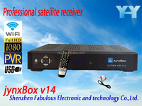 junxBox v14 satellite receiver iptv box indian channels hd video free channel receptor satellite hd