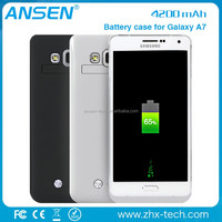 battery box Backup Battery Power Bank Case Cover Charger for iphone 4 battery case Samsung Galaxy S4 mini i9190