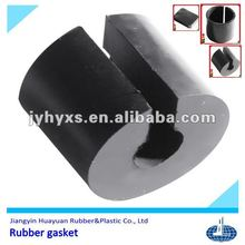 Jiangyin Huayuan supply high quality EPDM/silicone/Natural rubber/NBR/recycled auto rubber gasket