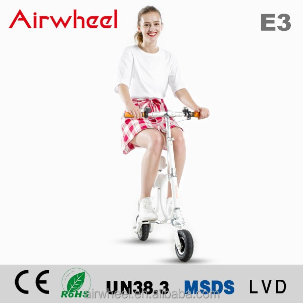 Airwheel E3 folding electric bike BACKPACK EBIKE with CE certificate