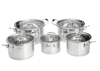 Stainless Steel Casserole indian infrared heater real kitchen cookware