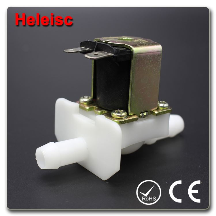 Water dispenser solenoid valve electric water valve brass chrome automatic basin mixer tap