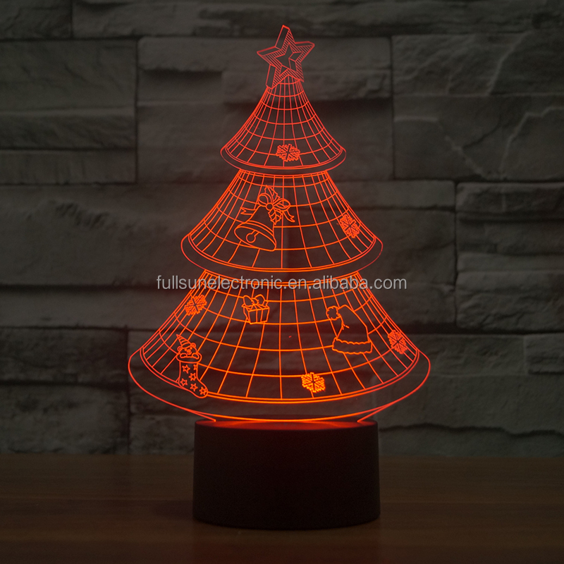 FS-2823 Promotional 3D Christmas led christmas fireworks light