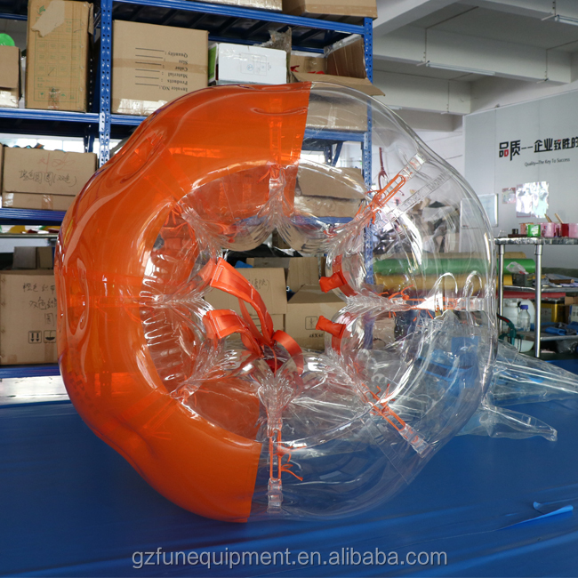 tpu bubble ball inflatable human body sized hamster bubble soccer ball
