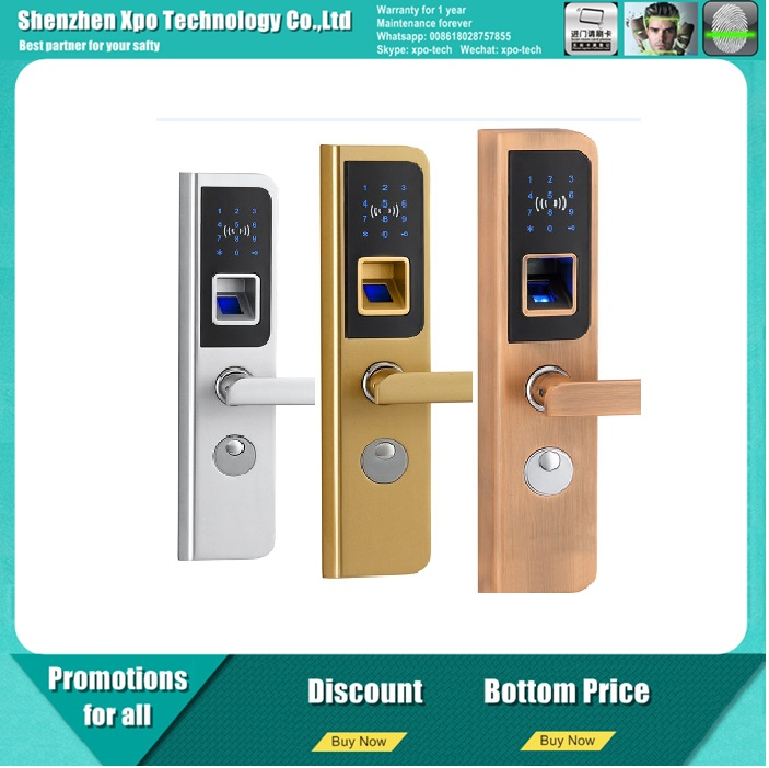 Advanced Digital Electronic Fingerprint System Door Lock