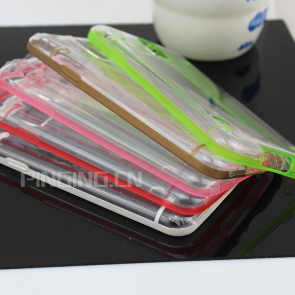 2014 PC+TPU iglow Case For S5, mobile phone case for S5 in stock