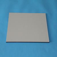 glossy color fire resistant acp sheet, double side acp, stylish aluminium composite panel for caravan