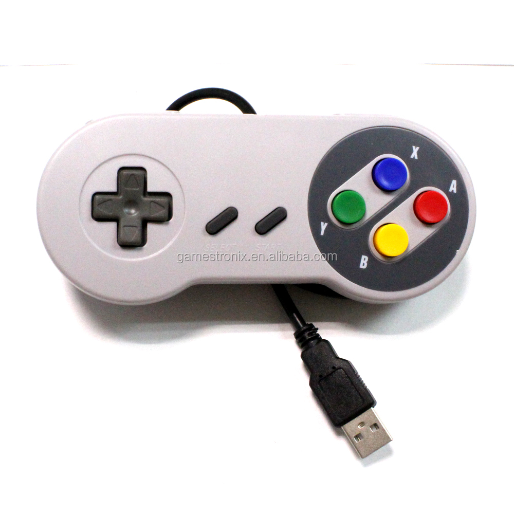 Highy Quality PC USB Game Controller for Nintendo Snes 1.8 M Brand New