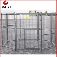 Baiyi Dog Crate Manufacturers Metal Cage Dog Running Sale With Pet Exercise Pen