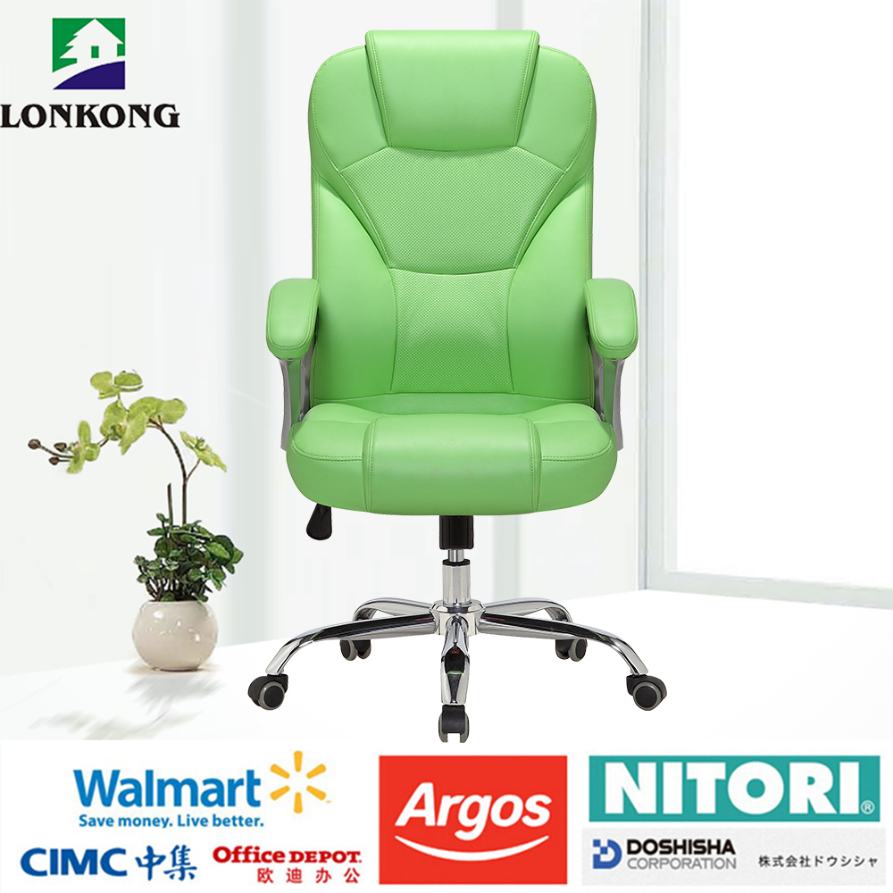 Pu Leather Rotating Funiture Office Chair
