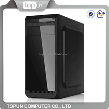 Cheap Custom Logo Wholesale Slim PC Case Gaming Case Computer Tower Desktop Case with Factory Price Alibaba Whosale