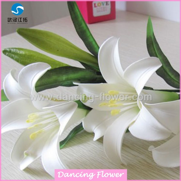 Artificial Fabric Lily Flower Wholesale (AF-43)