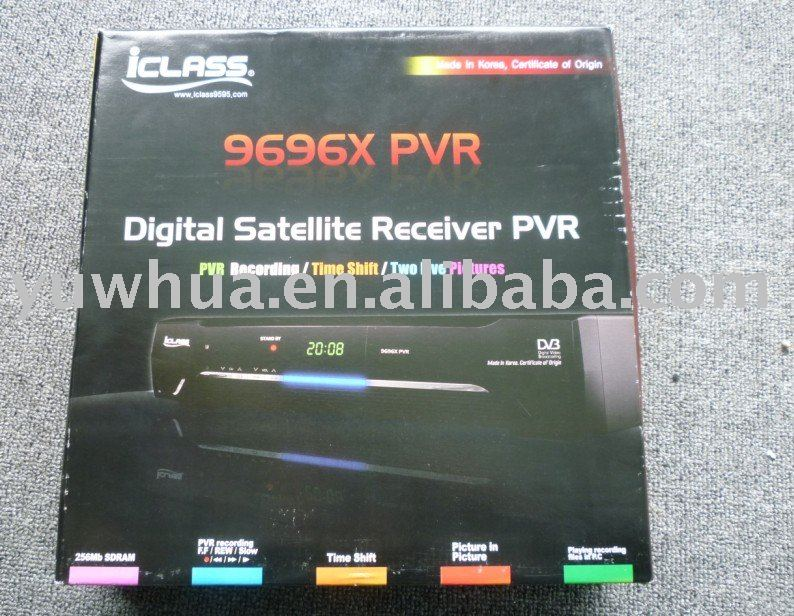 Iclass 9696x pvr dvb Digital satellite receiver