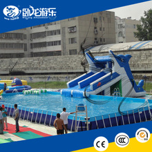 giant inflatable water slide / inflatable pool equipment