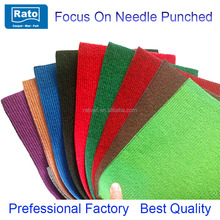 Needle punch ribbed carpet for wedding, exhibition,show, car ,hotel and other places