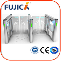 Library RFID card reader Low Temperatur Swing Barrier