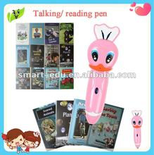 study pen---SE 08 Pink bee shaped talking toys with authentic language speaking