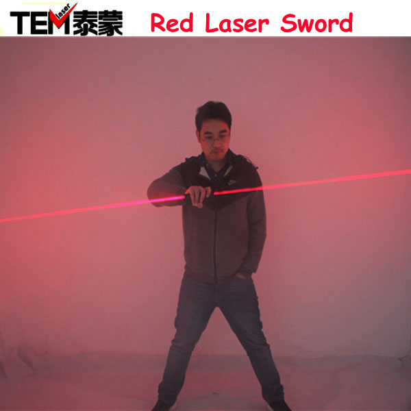 Dual Direction Red Laser Sword for laser man <strong>show</strong> 635nm big beam double-headed laser Diode module
