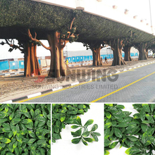Cheap durable uv protected ivy lattice fence for bridge decor