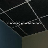 black fiberglass acoustic ceiling tiles popular design in theaters music studios and home theaters