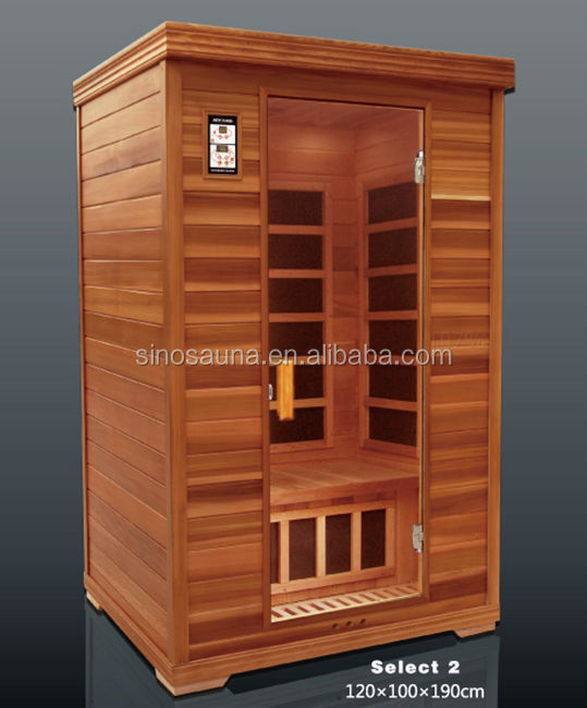 Detox Spa LOW EMF Far Infrared Finnish Wood Pallet Sauna (CE/RoHS/ISO/TUV)