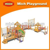 Outdoor wooden playset 8075A