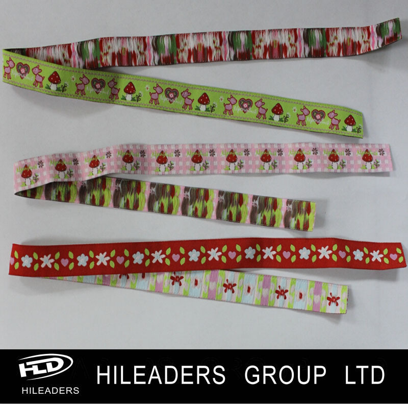 BS97 Custom Made Jacquard Ribbon Bracelet