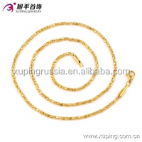 42776-xuping online shopping wholesale latest cool 24k gold necklace designs for women