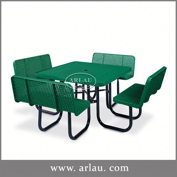 Arlau Wrought Iron Garden Table And 4 Chairs, garden table, Wrought Iron Outdoor Table And Chair