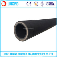 Large diameter 4 inch industrial hydraulic rubber hose and fittings
