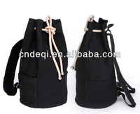 Custom Pattern Black Boys Sport Backpack in Canvas