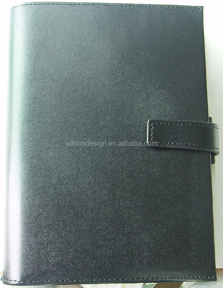 A6 ring black textile pigment printing binder clip