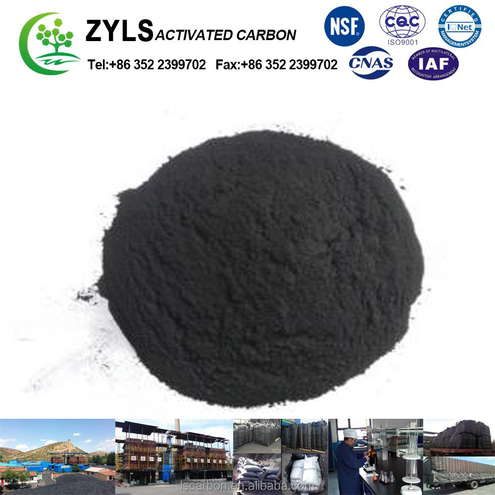 developed pore structure Caramel Adsorption > 100% wood powder activated carbon