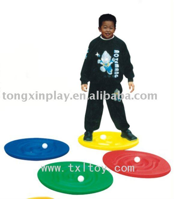 Enfants en plastique escargot balance board
