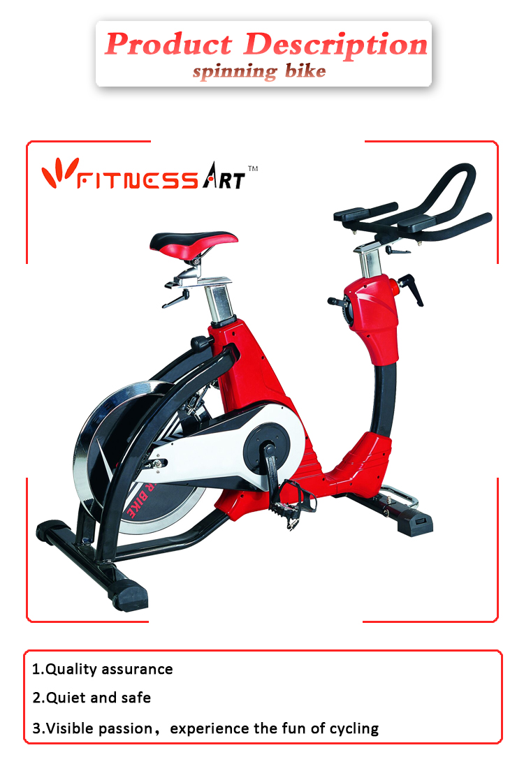 Professional exercise spin bike gym fitness commercial spinning bike
