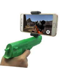 3D Scene 360 Degree Shooting Peashooter AR Game Gun for Children's Toy Guns
