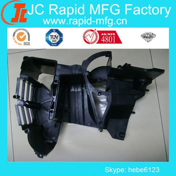 ISO9001 Customized mechanical and engineer PC, Nylon/ ABS injection plastic part manufacturer