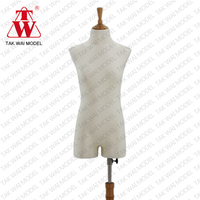 Hot sale lady with wooden top for shop showcase mannequins