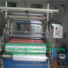 High speed Double-layer PE/PVC Stretch film machine/cling film making machine