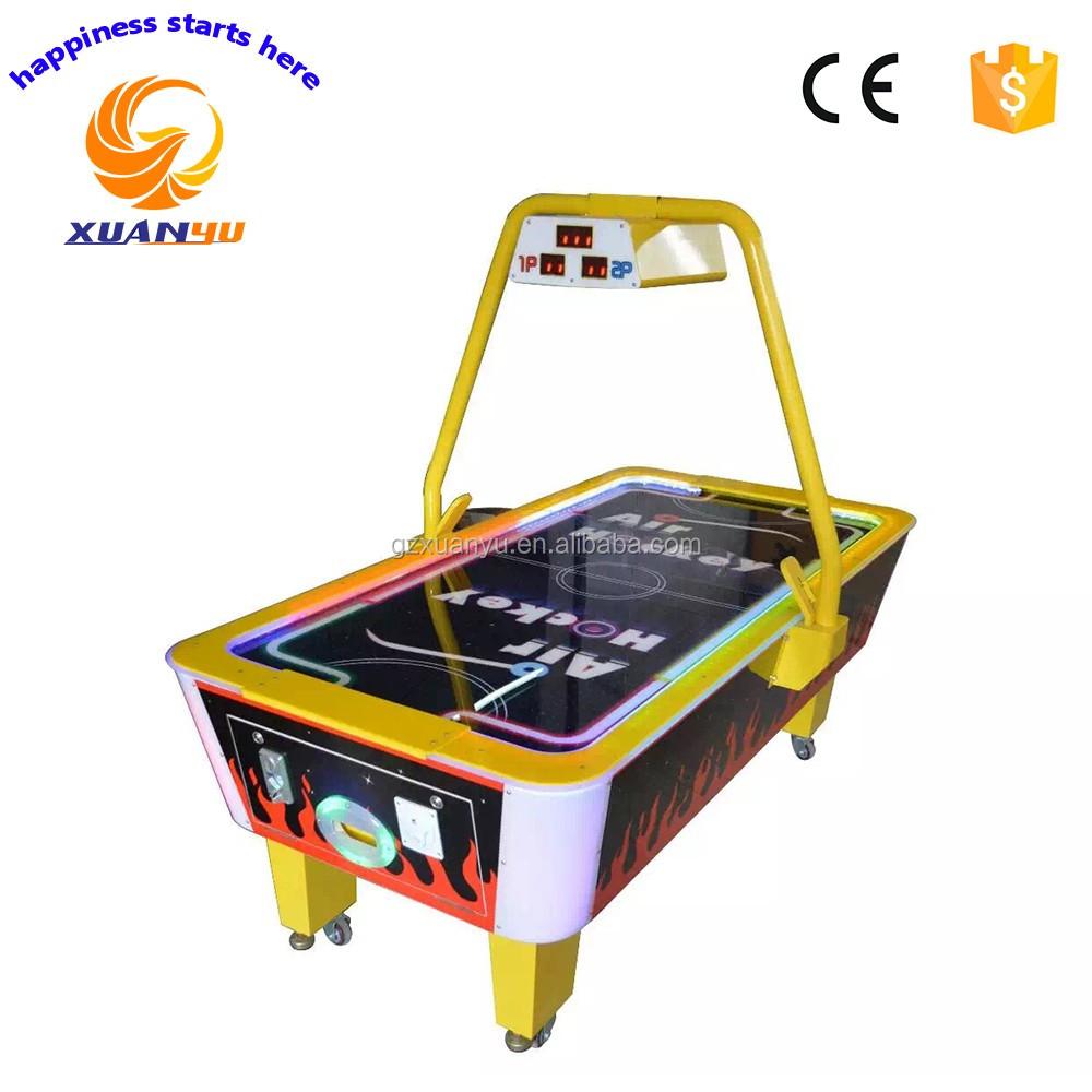 Al aire libre mini mesa de air hockey mesa de hockey de aire juego para ni o juegos operados - Mesa de hockey de aire ...