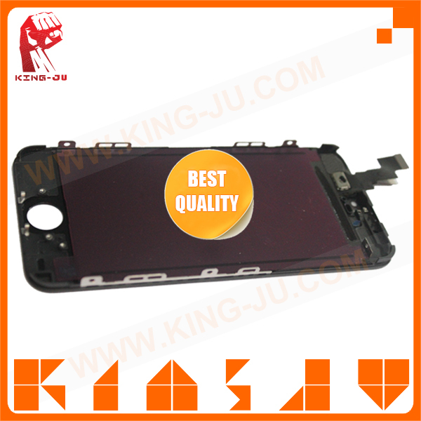 By fast shipping cheap for iPhone 5c grass mirror screen replacement with digitizer with most competitive price