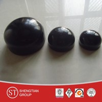 forged pipe fittings carbon steel butt welded end cap ANIS B16.9