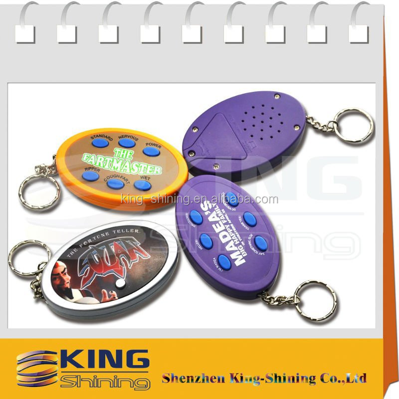 customized led keychain electronic pet