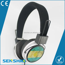 2015 Hot Sale Metal Stereo Headphone wholesale with factory price