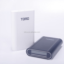 6000mah TOMO V8-4 Li-ion Battery Cells High Drain Power Bank For Mobile Phone