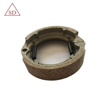 Professional factory motorcycle brake shoe with lining